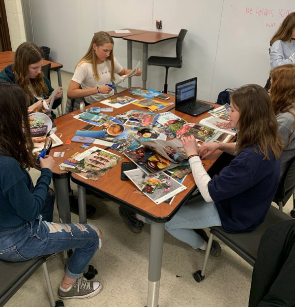 Senior conducts art therapy study