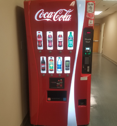 LHS and VHHS have contracts with Coca-Cola to sell their products in vending machines for all sugar free products.