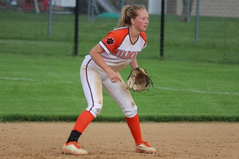 Normally at this time of year, Sarah Bennett would be playing softball for LHS. But that