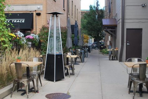 Milwalky Trace expanded their patio seating to encompass the nearby alleyway. Restaurants like O'Tooles and The Liberty have also used outdoor areas and patios to create new outdoor seating.