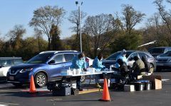 On Oct. 31, the LHS parking lot transformed into a mobile COVID-19 testing site, free of cost and available to all Libertyville residents.