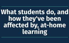 What students do, and how they've been affected by, at-home learning