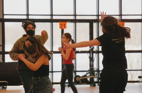 """The choreography for """"I'm a believer"""" is fast-paced with lots of energy. The performers exhibited high energy during the rehearsal of the dance."""