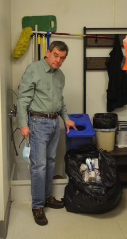 The owner of Rocky Mountain Chocolate Factory, Tom Lockowitz, pays to recycle cardboard and paid for a dumpster in the parking lot behind his store himself. Lockowitz also collects other recyclables in the back of the shop and brings them home to recycle properly.