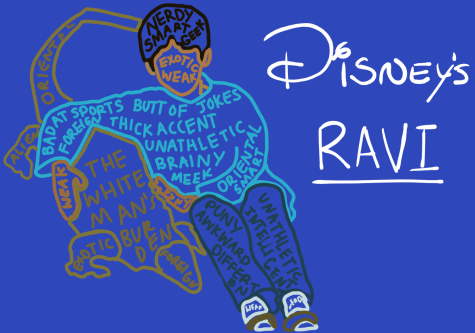 "Ravi, from the Disney show ""Jessie,"" is a prime example of misrepresentation in children's media. He is an inaccurate portrayal of South Asian culture, perpetuating the racist stereotypes of being nerdy, unathletic, and weak."