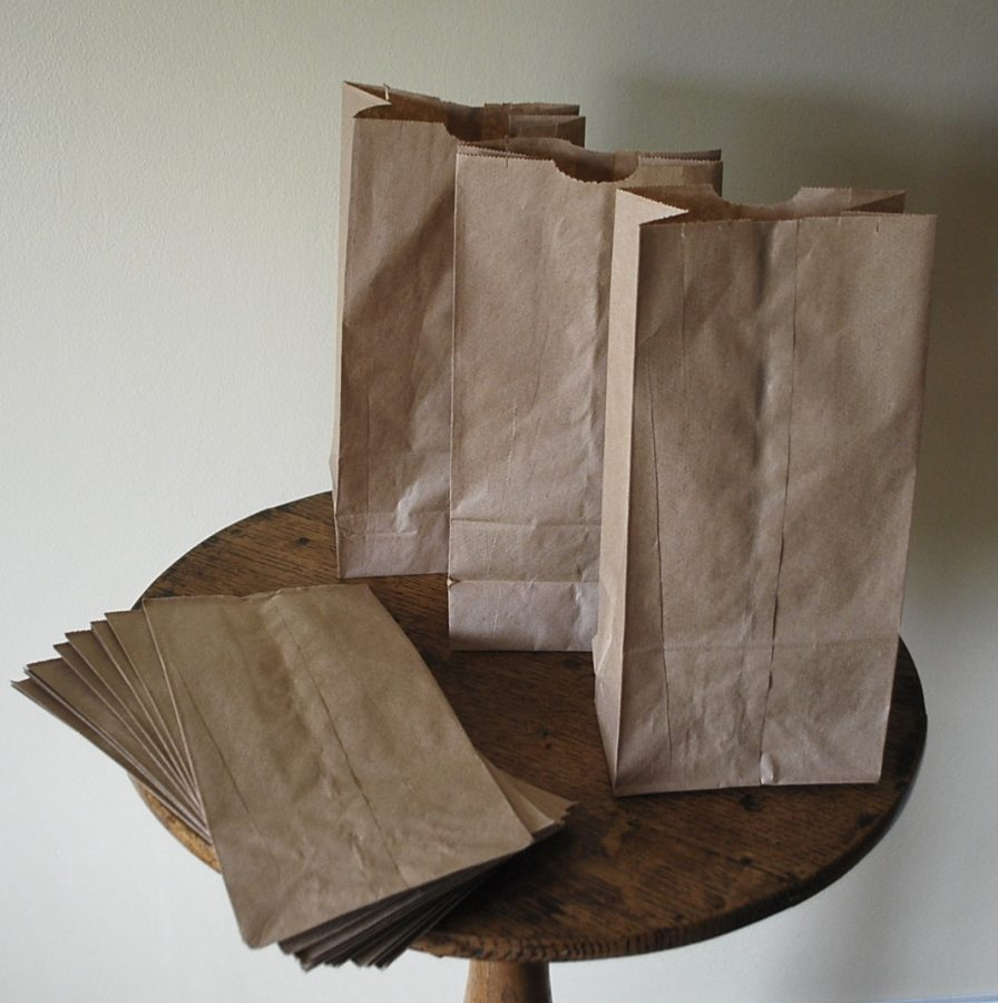 While being able to degrade faster than plastic bags, paper bags can increase deforestation and carbon emissions to an extent that petroleum products don't.