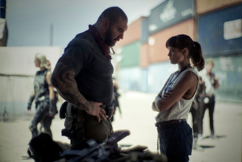 """Dave Bautista and Ella Purnell's father-daughter chemistry helps save """"Army of the Dead"""" from becoming unwatchable."""