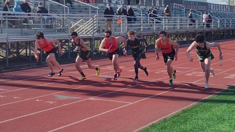 Boys Track Scores Second on Senior Night
